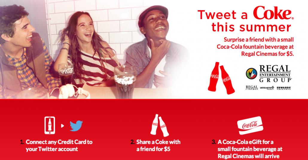 Twitter Üzerinden Coca-Cola Göndermeyi Sağlayan Proje: Tweet a Coke