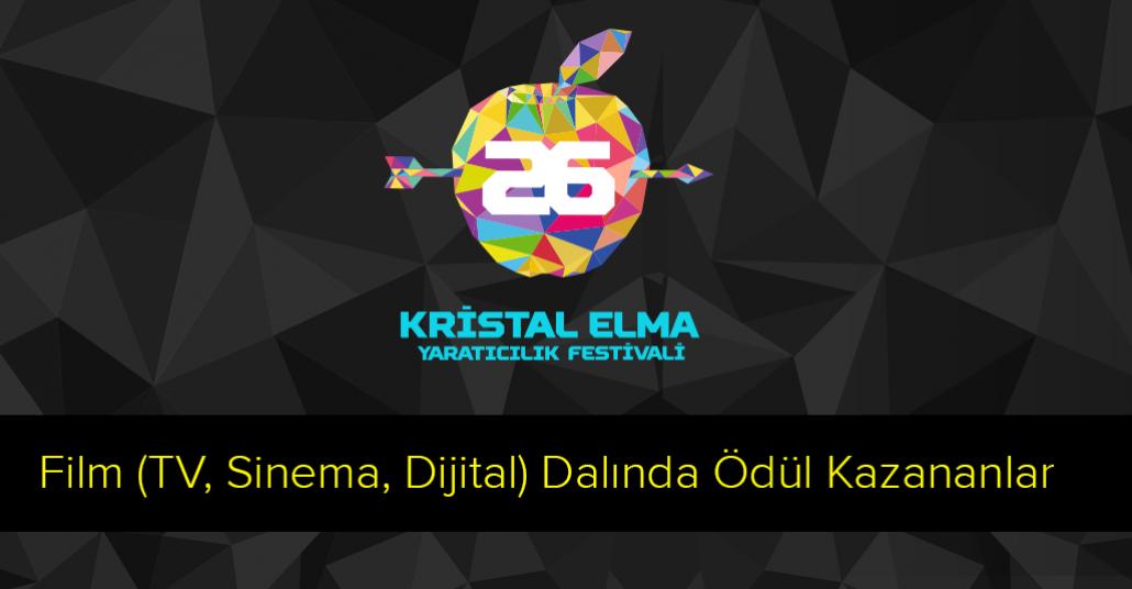 26. Kristal Elma Film Dalında Ödül Kazananlar [Kristal Elma 2014]