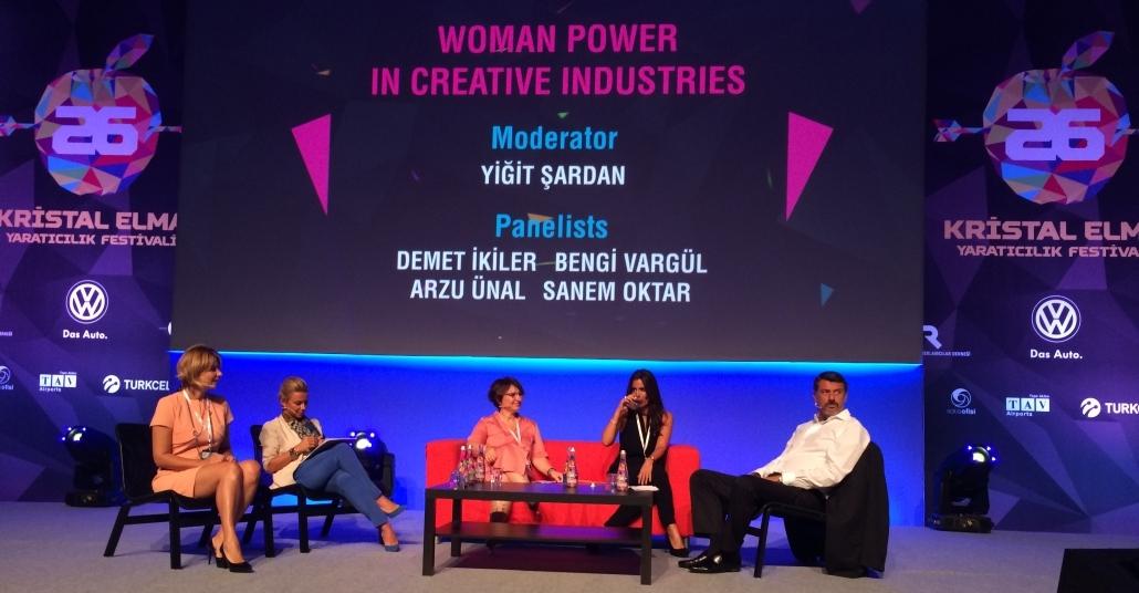 Woman Power in Creative Industries [Kristal Elma 2014]