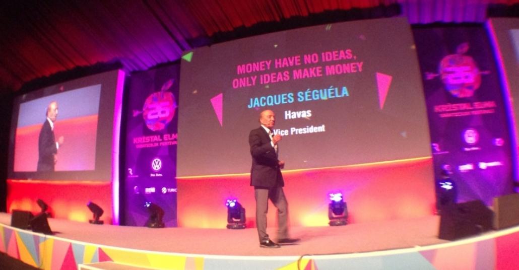 Jacques Séguéla – Money have no ideas, only ideas make money [Kristal Elma]