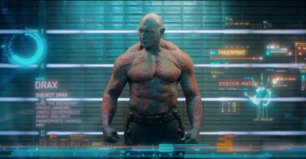 Guardians of the Galaxy'deki Bilgisayar Destekli Görüntü Detayları