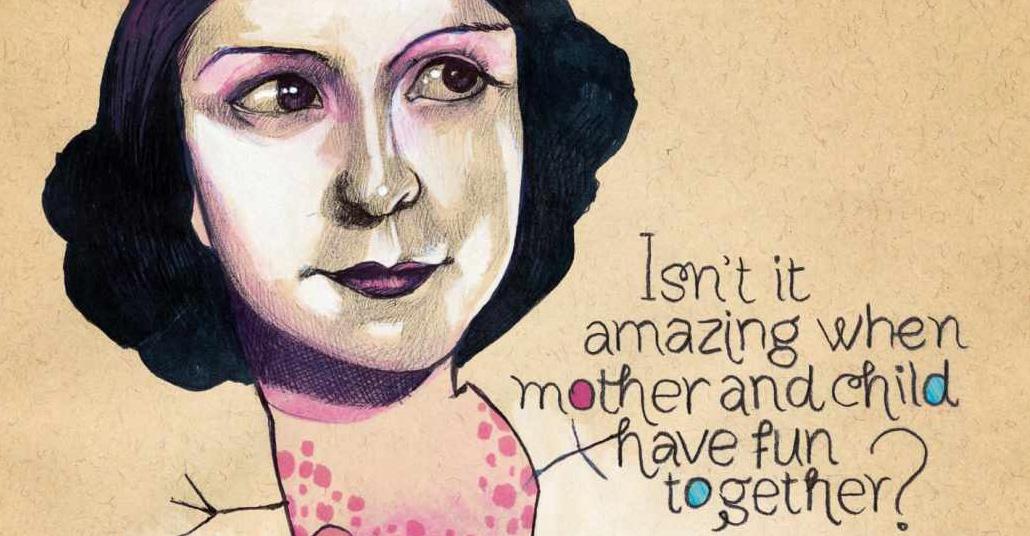 Mica ile Myla'nın Anne-Kız Birlikte Yaptığı İllüstrasyonlar Reklam İçin Kullanıldı