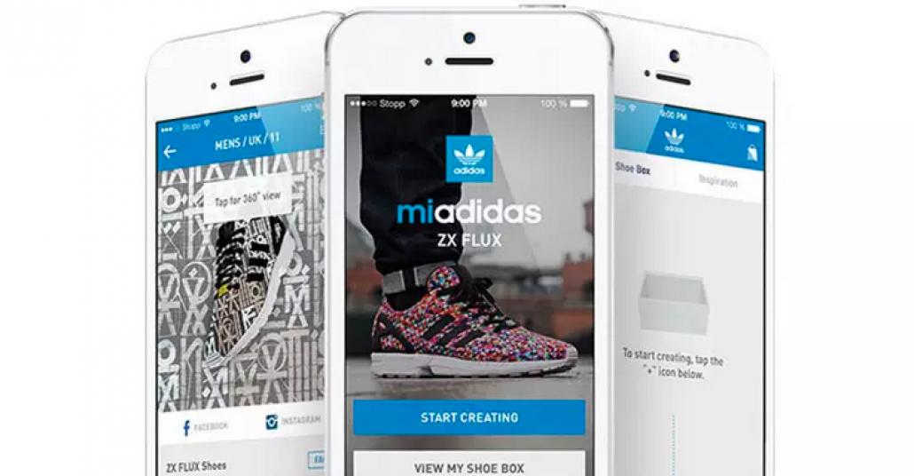 Adidas'ın ZX Flux Modeli İçin Kişisel Bir Uygulama