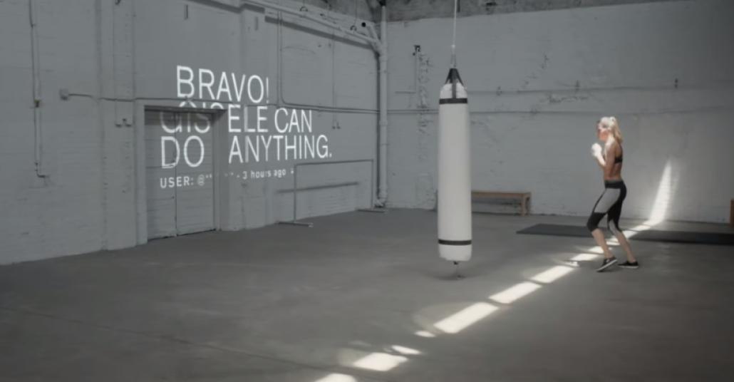 Under Armour'un Gisele Bündchen'li Reklamı
