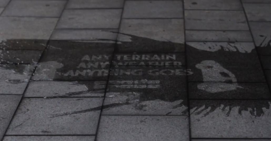 FIAT'ın Yağmur Yağdığında Ortaya Çıkan Kampanyası