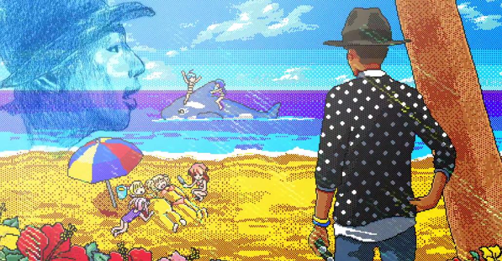 Pharrell Williams'ın Animeli Videosu: It Girl