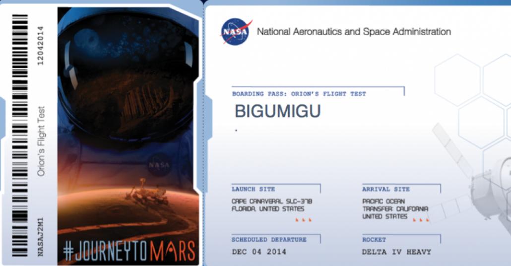 Journey to Mars: Adınızı NASA ile Mars'a Gönderin