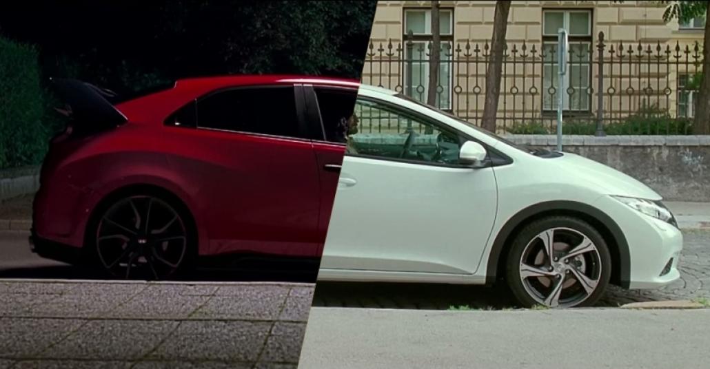 Honda Type-R için İki Hikaye Aynı Anda Tek Filmde