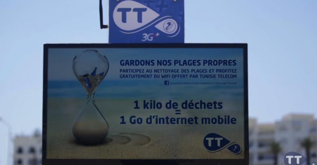 Her Çöp İçin Ücretsiz Wi-Fi