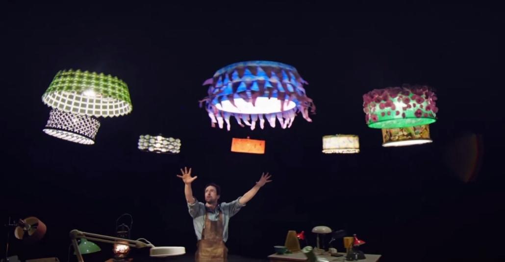 Cirque du Soleil'in Drone'lar ile Dansı: Sparked