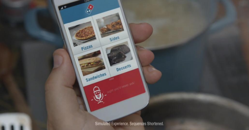 Dominos'tan Siri Benzeri Pizza Sipariş Uygulaması: Dom