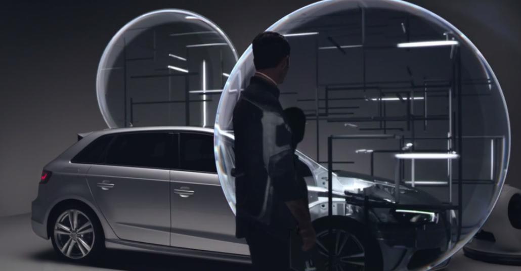 Audi A3 Sportback'in Algı ile Oynayan İşi