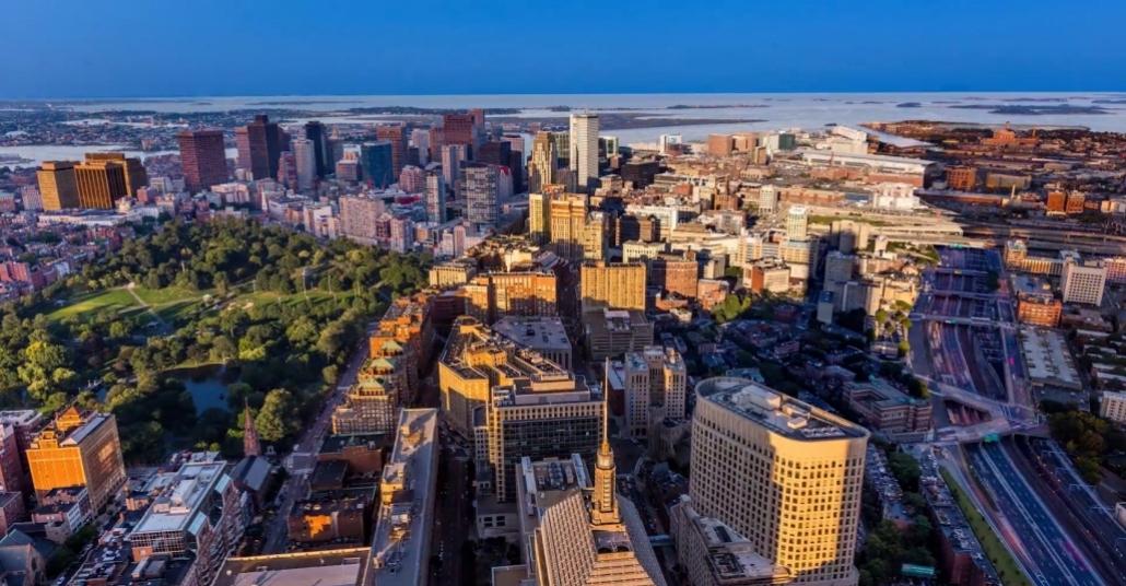 Boston'ın Farklı Katmanlarla Hızlandırılmış Çehresi