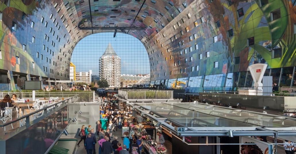 Dışı Ev İçi Manav: Markthal