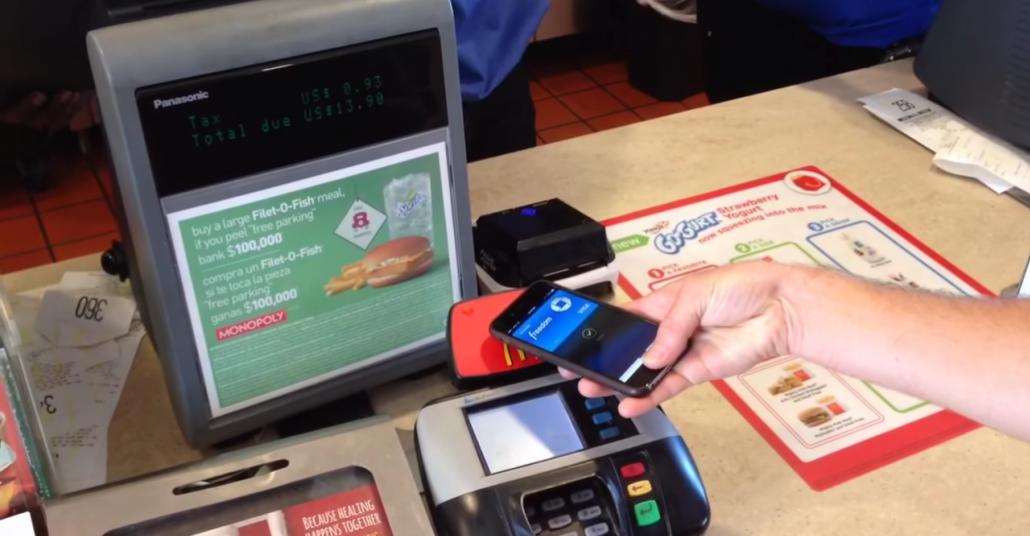 Zincir Restoranlarda Apple Pay ile Ödeme Dönemi