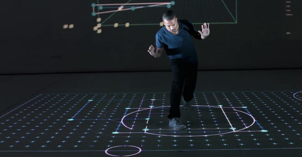 Pathfinder: Dans Hareketleri ile Çalışan Bir Görsel Programlama Dili