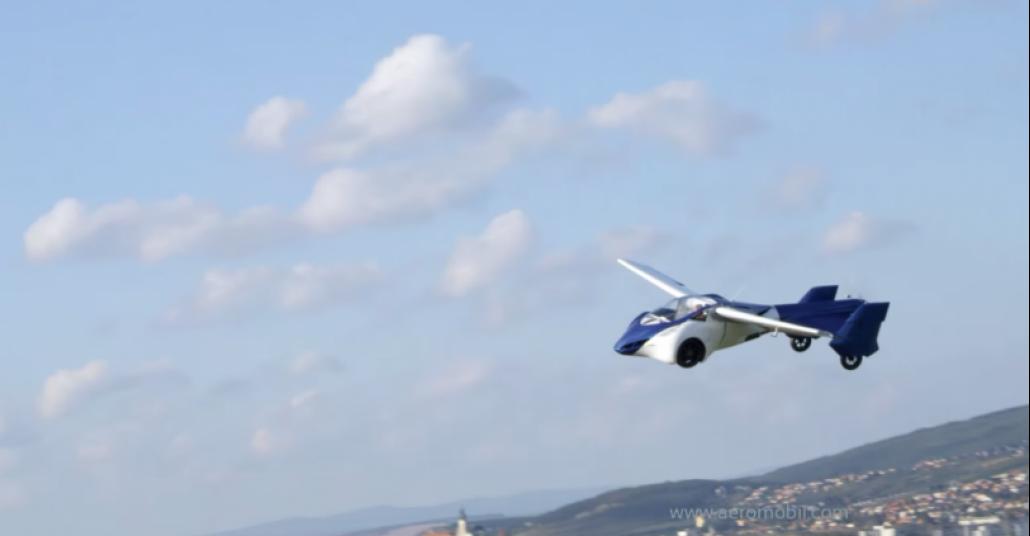 Uçan Otomobil Hayali Gerçek Oluyor