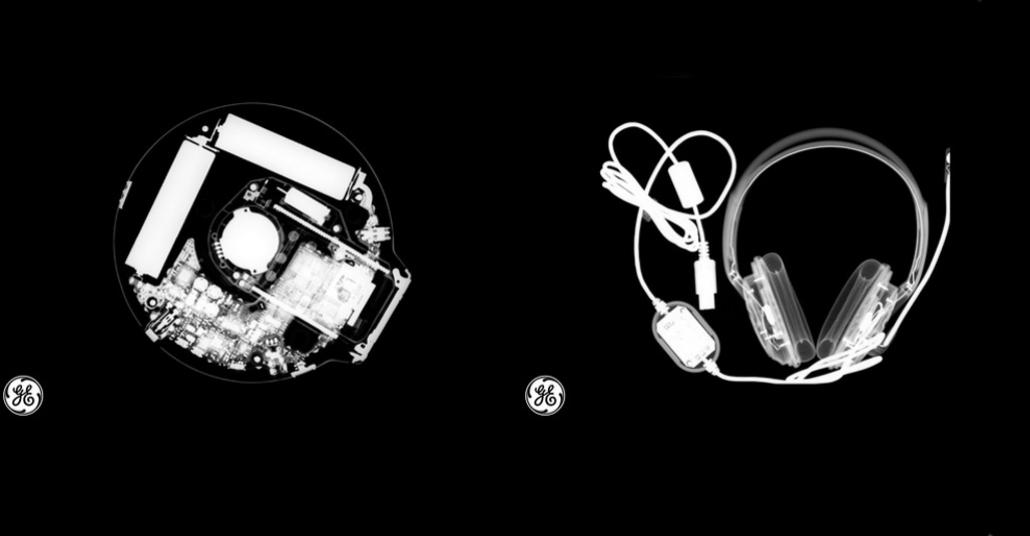 Gündelik Eşyaların Röntgen Görüntüleri