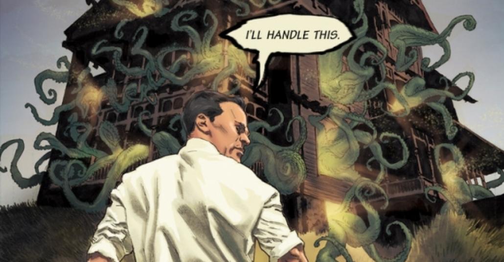 H.P. Lovecraft'a Adanmış Çizgi Roman Projesi
