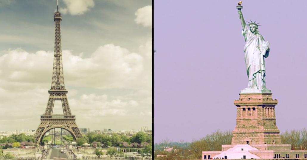 Ortak Yönleriyle İki Büyük Şehir: New York ve Paris