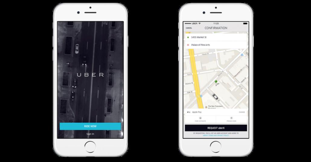 Uber ve Apple Pay Anlaşmasıyla Tek Parmakla Yolculuk