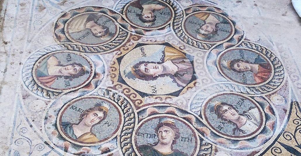 Zeugma'nın Yeni Mozaikleri