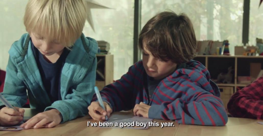 IKEA İspanya'dan Çocukların Gerçek Yeni Yıl Dilekleri