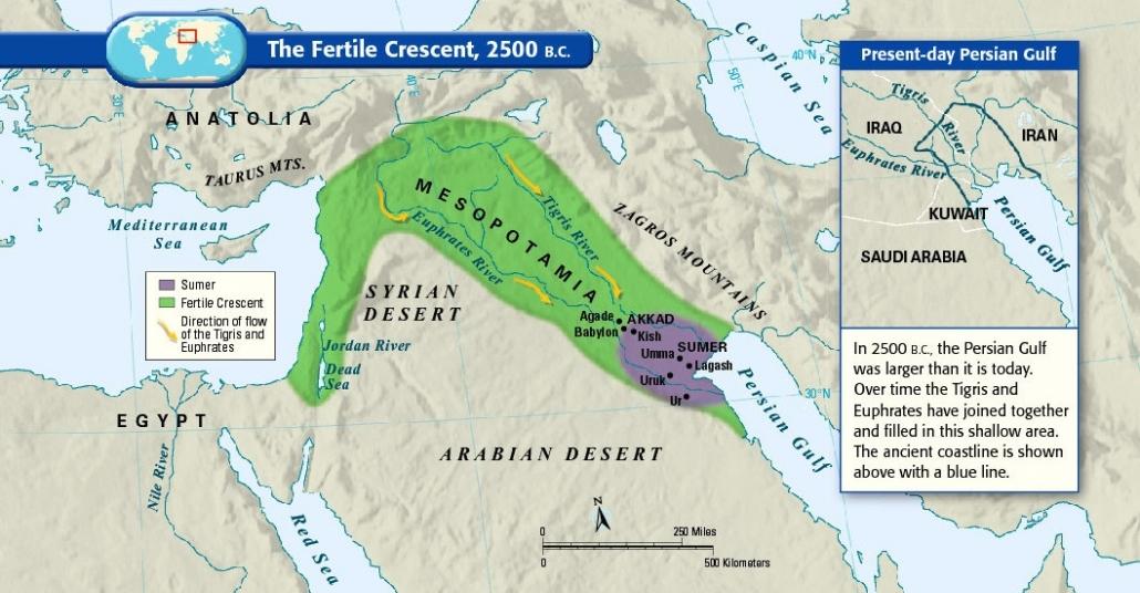 Haritalarla Orta Doğu Üzerine Her Şey