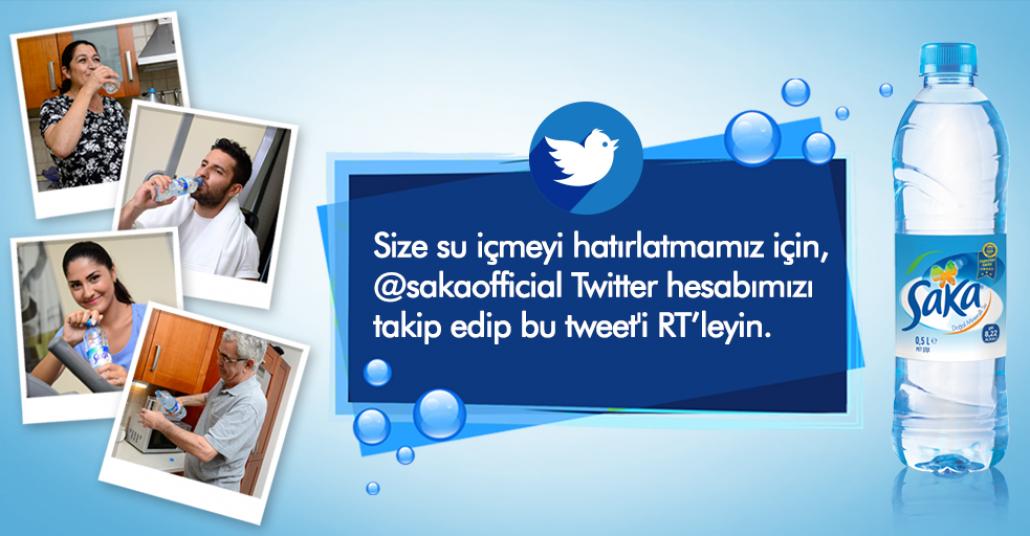 Sosyal Medyada Su Hatırlatıcı