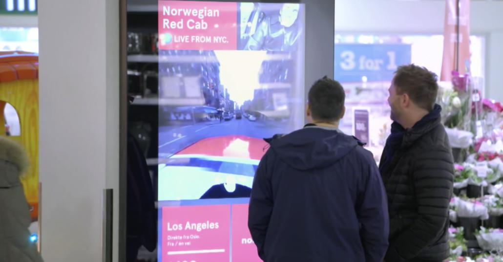 Norwegian Air Shuttle'dan Oslo'lulara New York'ta Sanal Tur