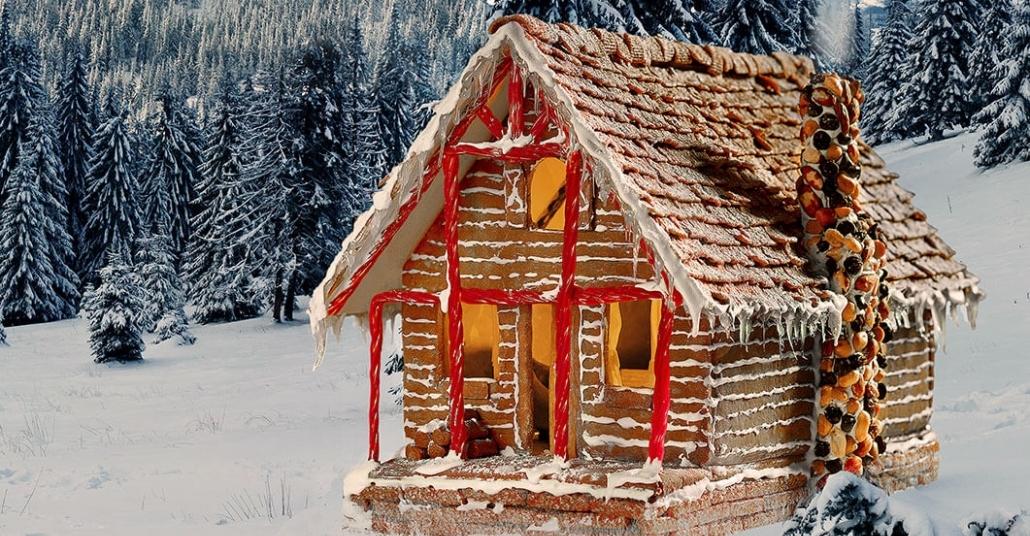 Bu Tatilde Bir Zencefilli Kurabiye Evi Kiralamak İster Misiniz?