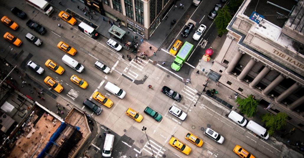 Gökdelenler Üzerinden Çekilen New York Fotoğrafları