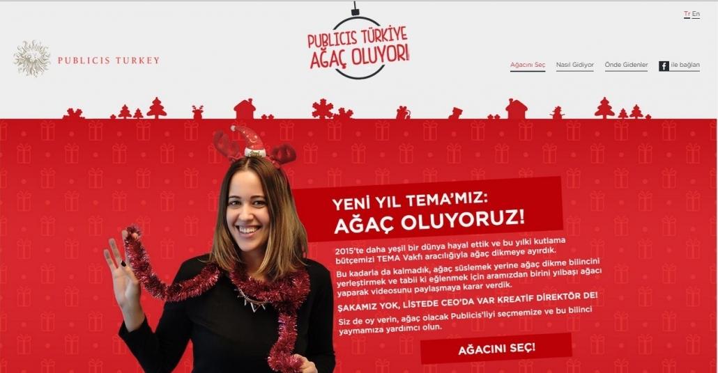 Publicis Türkiye Ekibi Ağaç Oluyor