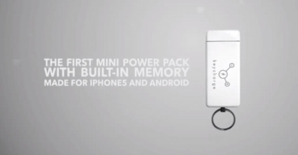 Taşınabilir Şarj Cihazı ve USB Belleğin Birleşimi: Keycharge
