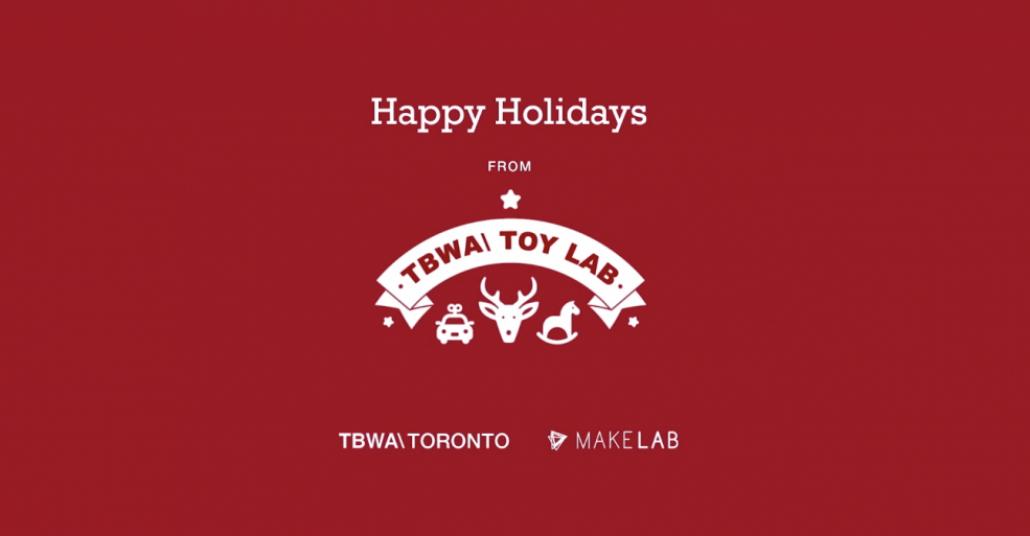 TBWA Toronto'dan Müşterilerinin Çocuklarına Tatlı Bir Yılbaşı Jesti