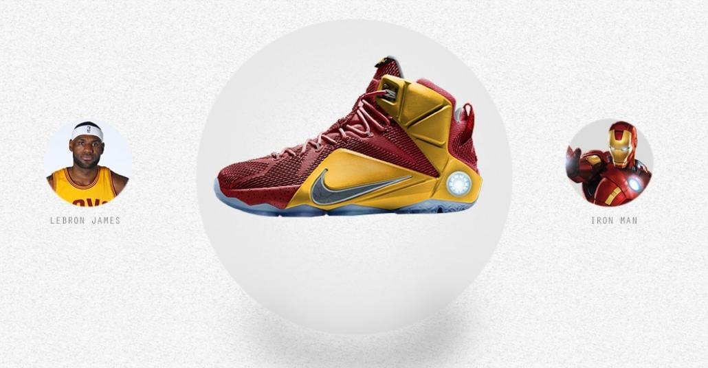 Süper Kahramanların NBA Ayakkabıları