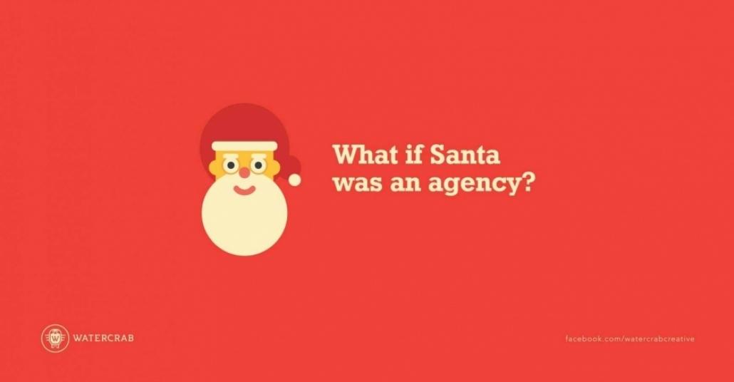 Noel Baba Reklam Ajansı Olsaydı