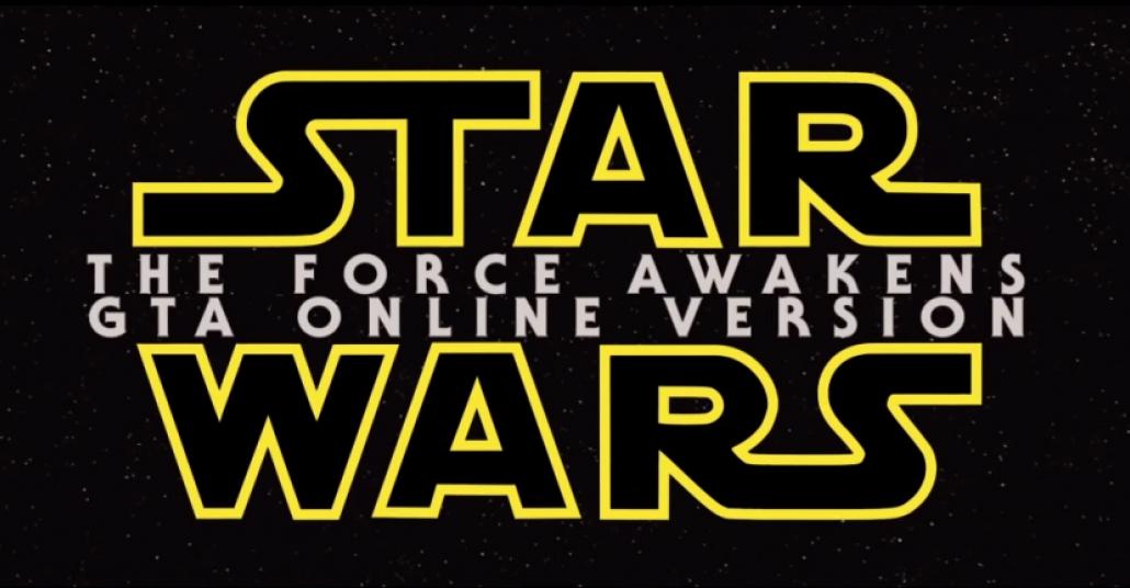 GTA V İçinde Çekilen Star Wars Fragmanı