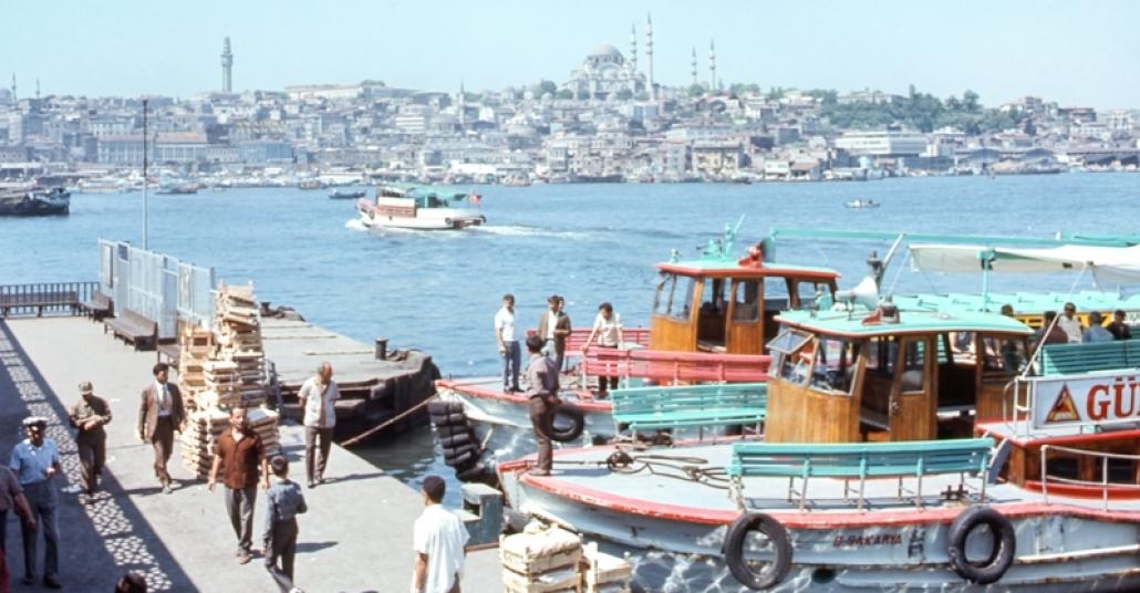 1971'deki Istanbul'un Yüksek Çözünürlüklü Çehresi