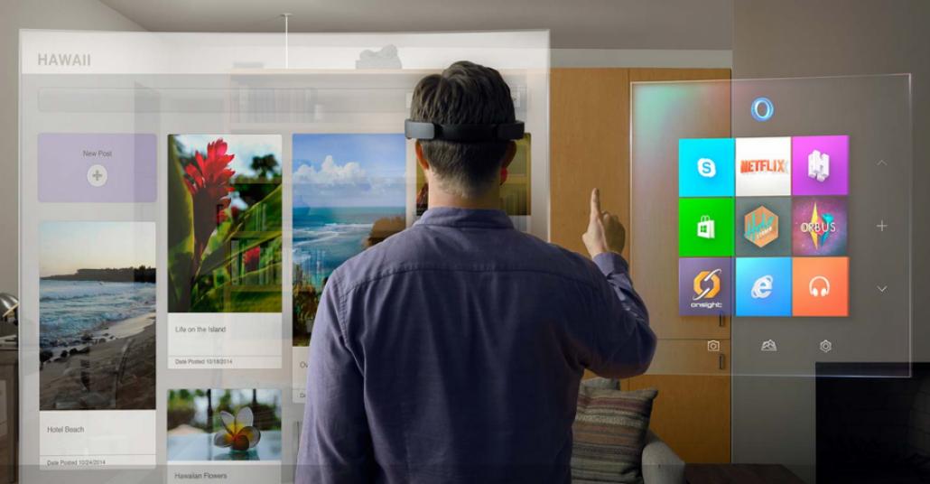 Microsoft HoloLens Sanal Gerçeklik Algısını Değiştiriyor