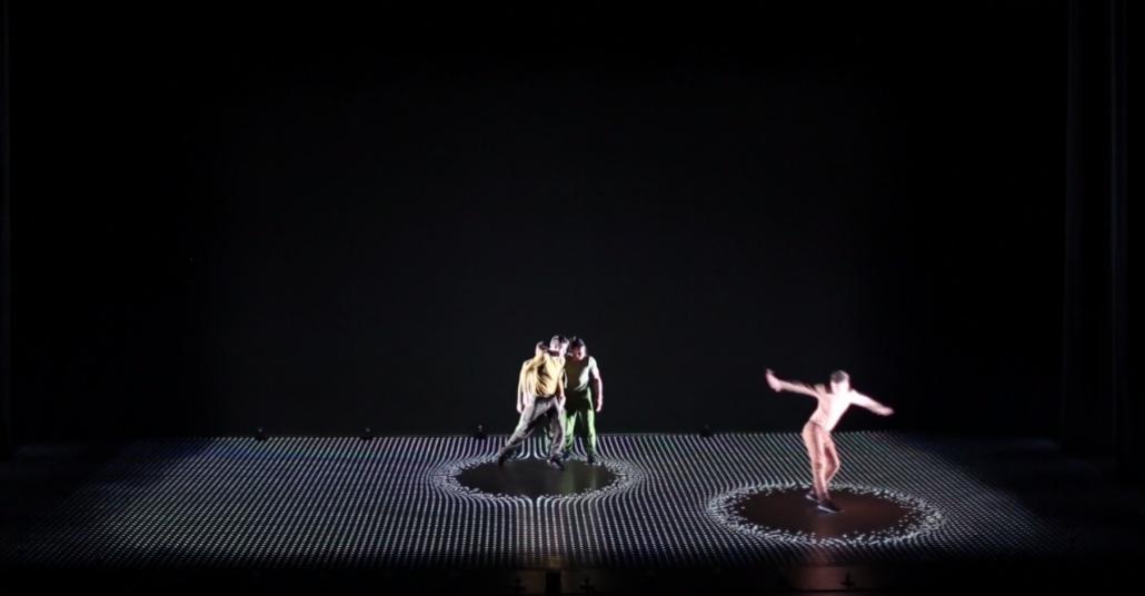 Projeksiyon Yansıtma ile Dans Gösterisinin Uyumu: Pixel