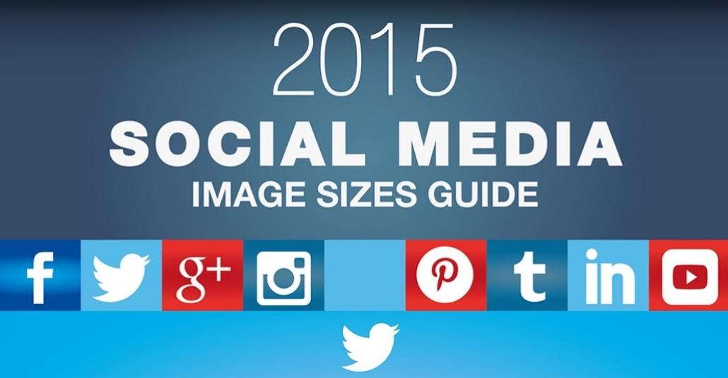 Popüler Sosyal Ağların 2015'teki Görsel Çözünürlükleri [İnfografik]