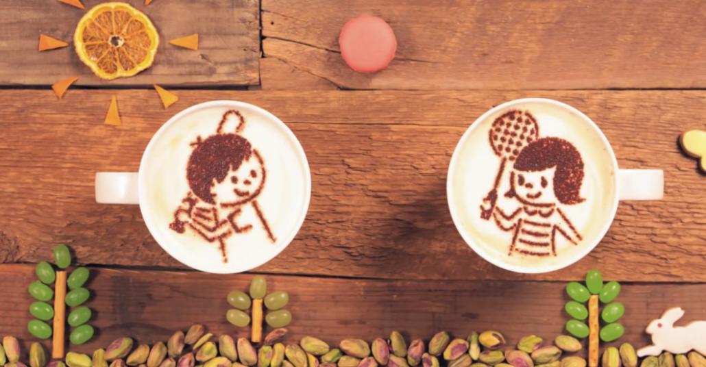 Kahve Sanatıyla Animasyon Film