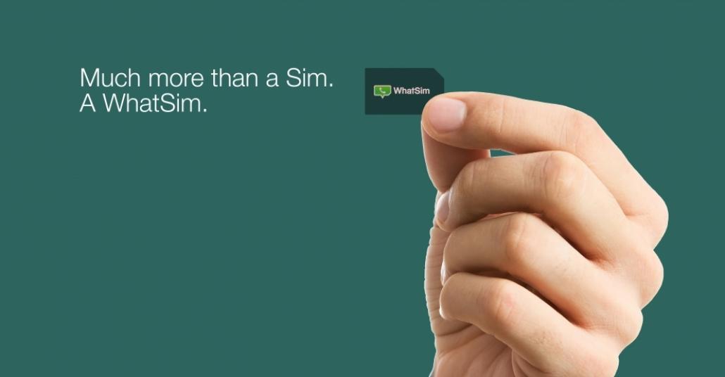 Yurt Dışındayken WhatsApp Üzerinden Yazışmanızı Sağlayan SIM Kart: WhatSim