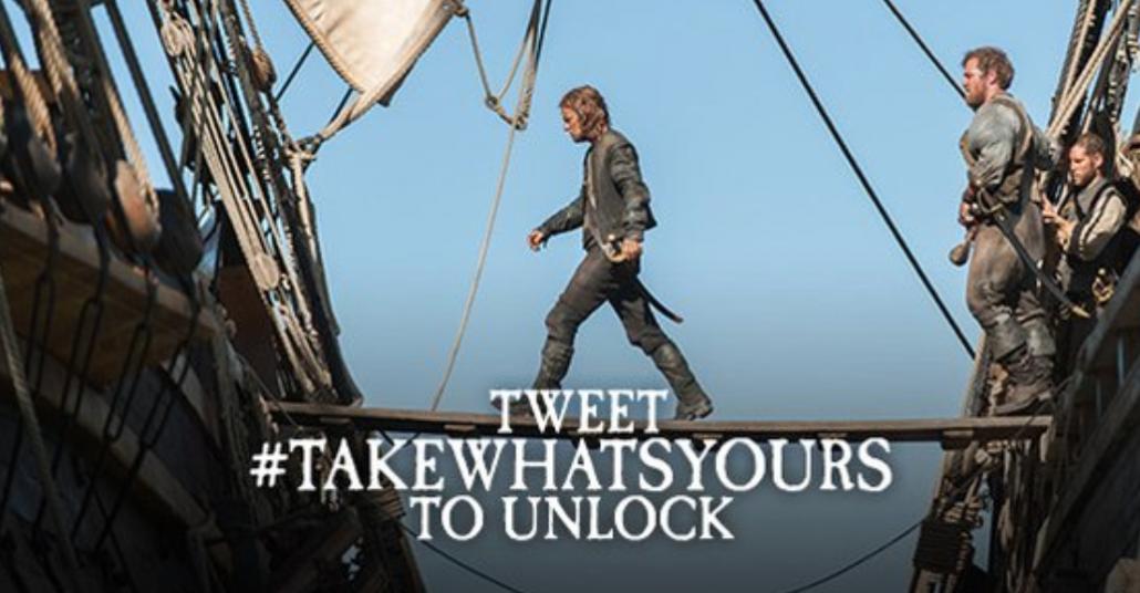 Black Sails Dizisi Yeni Sezonun İlk Görüntülerini Twitter'da Gösteriyor