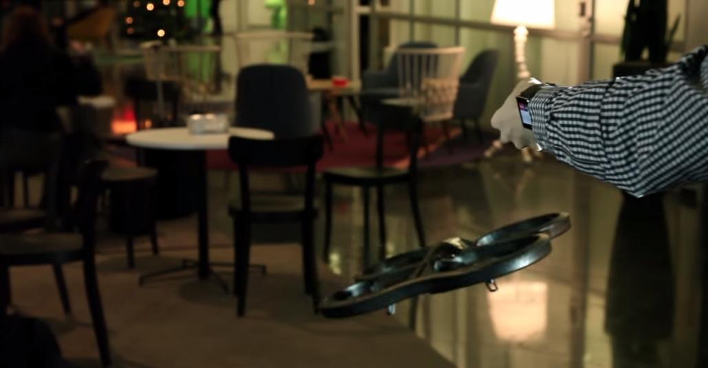 Sony'den Kol Hareketleriyle Drone Kontrol Yazılımı