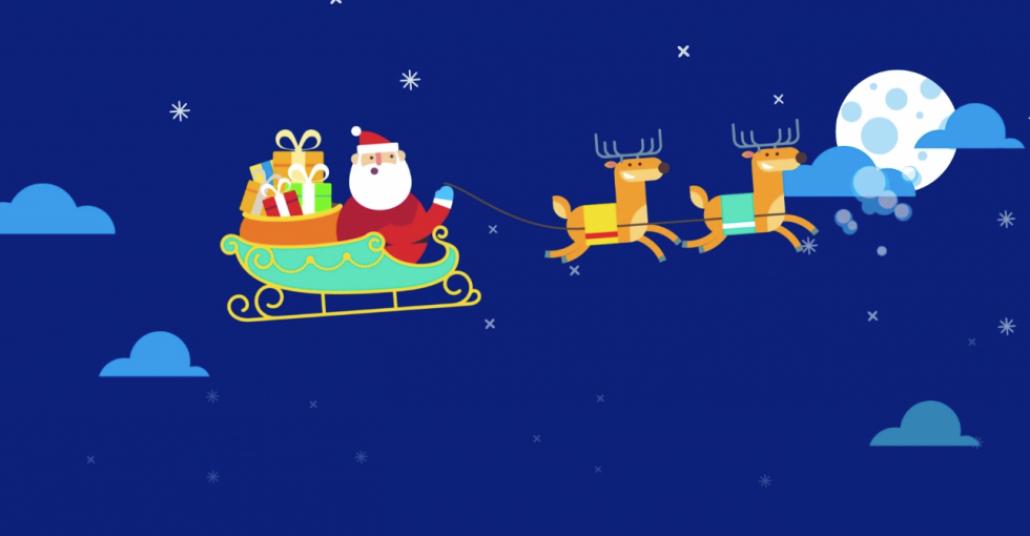 Swarm Uygulaması'yla Noel Baba Ziyareti Yapan Banka