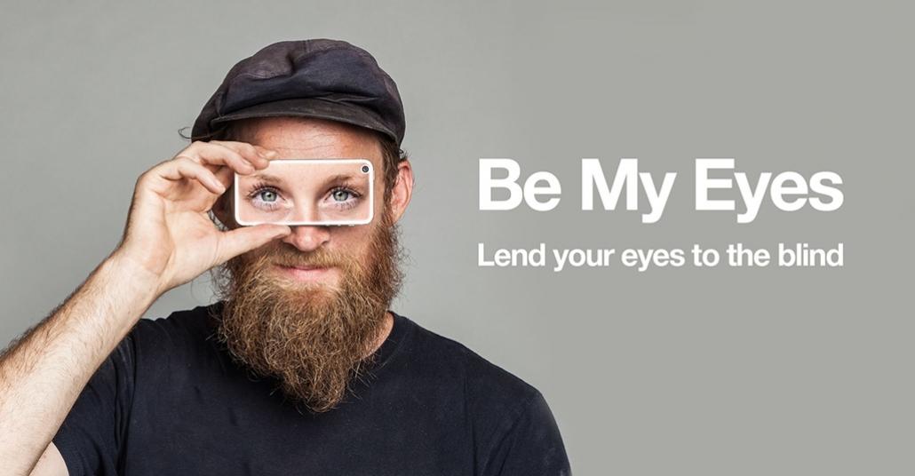 Benim Gözlerim Ol – Görme Engellilerin Görmesine Yardım Et