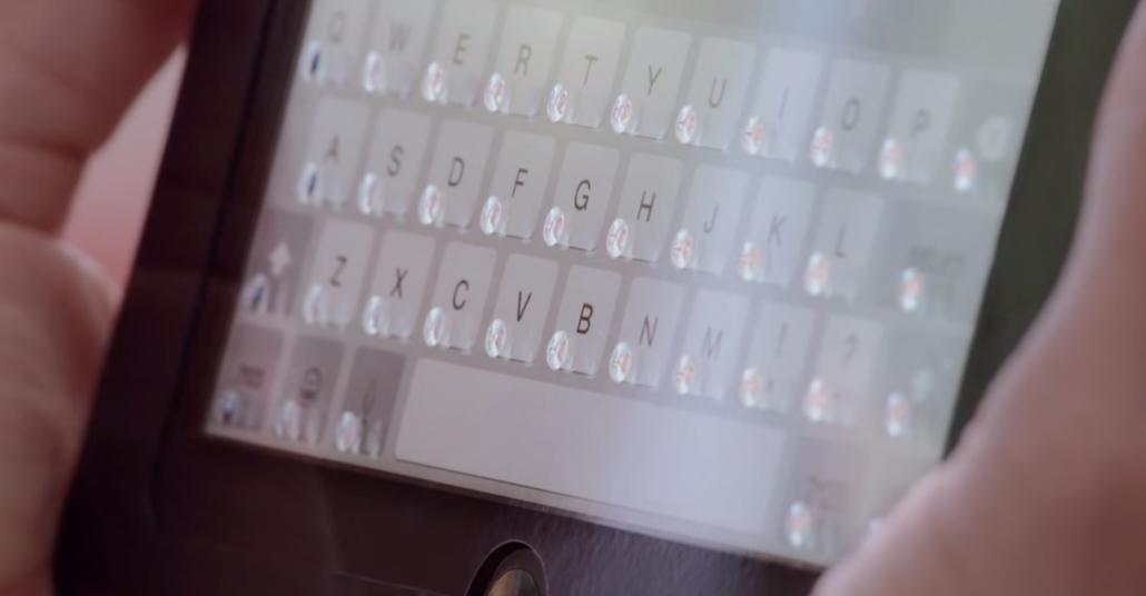 iPad Ekranında Yazmayı Kolaylaştıran Tuş Baloncukları