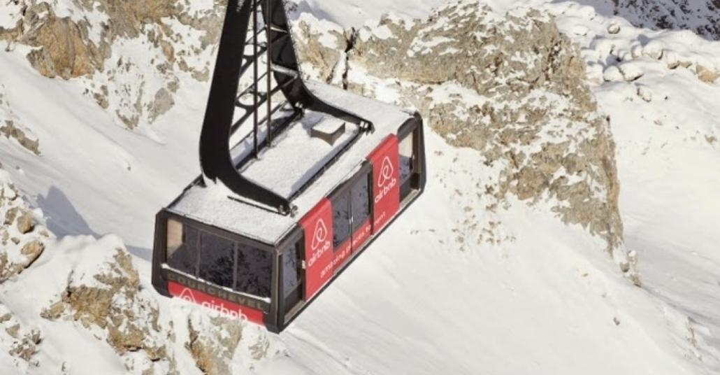 Airbnb ile Alpler'deki Bir Teleferikte Kalmak